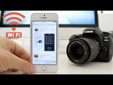Canon 80D Tutorial - How to set up WiFi - YouTube | Pics I