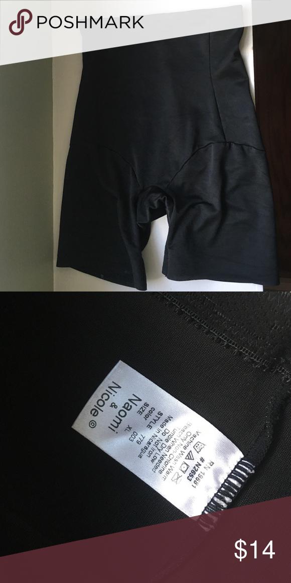 394e6839a XL Spanx girdle shapewear NWT Great shapewear shorts girdle like spanx.  From Macy s I think naomi   Nicole Intimates   Sleepwear