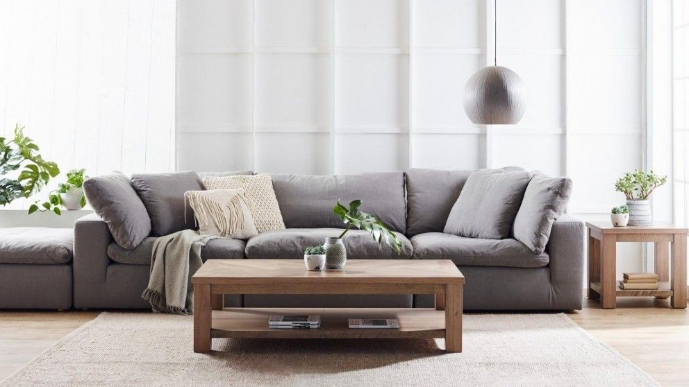 Cirro 3 seater fabric sofa lounges living room - Harvey norman living room furniture ...
