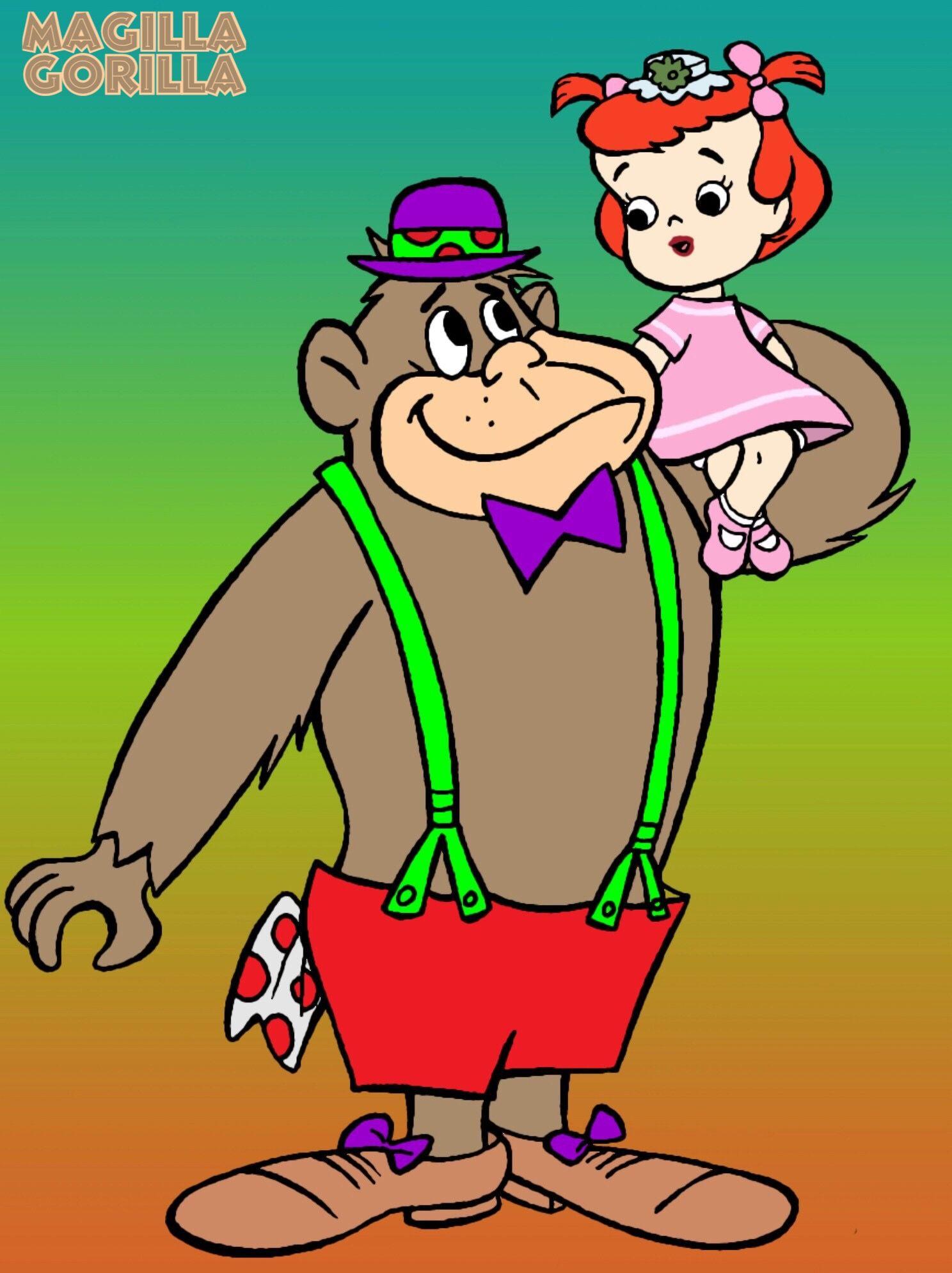 hannabarbera magillagorilla Cartoon art styles