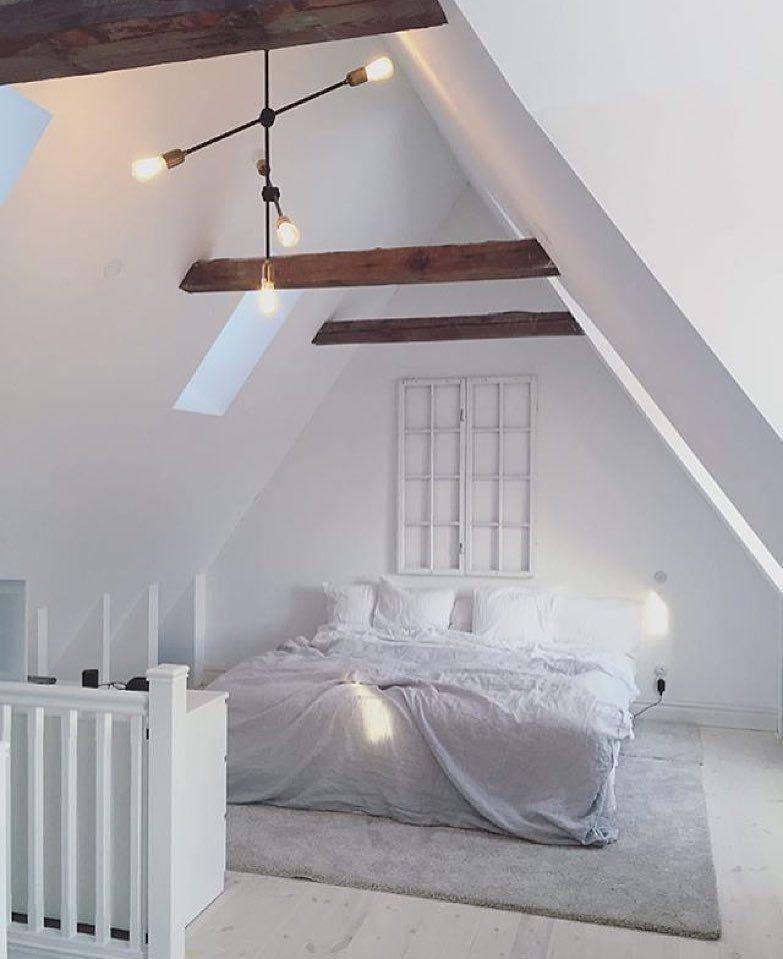 OFFENES DACHZIMMER HAUS ST Pinterest Dachzimmer - schlafzimmer mit schrge