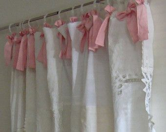 Shabby Chic Shower Curtains