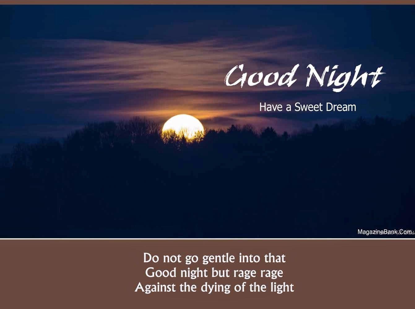 latest good night quotes