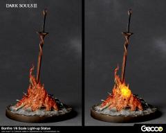 Dark Souls Iii Bonfire 1 6 Scale Light Up Statue Dark Souls Dark Souls Statue Bonfire Lit