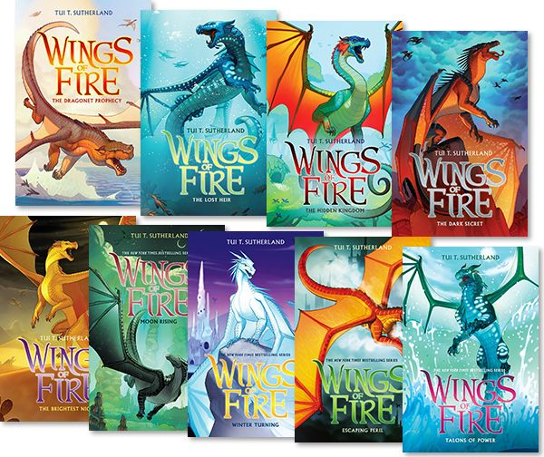 Fun series for boys or girls. Dragon books. | Wings of fire, Fire book,  Book dragon