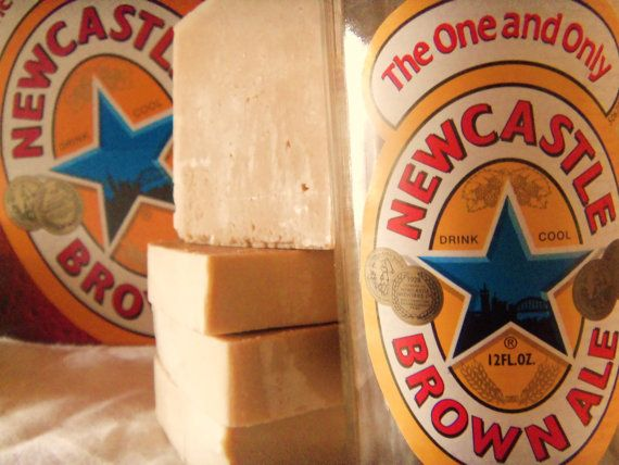 Hey, I found this really awesome Etsy listing at https://www.etsy.com/listing/93218322/1-gift-wrapped-beer-soap-with-newcastle
