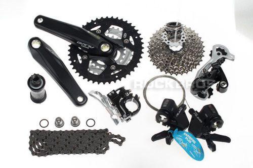 Shimano Altus M370 MTB Bike Groupset Group Set 3x9 27-speed 7pcs