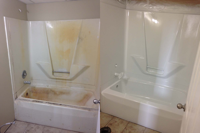 We Are A Tub And Tile Reglazing Company Providing Services Only In
