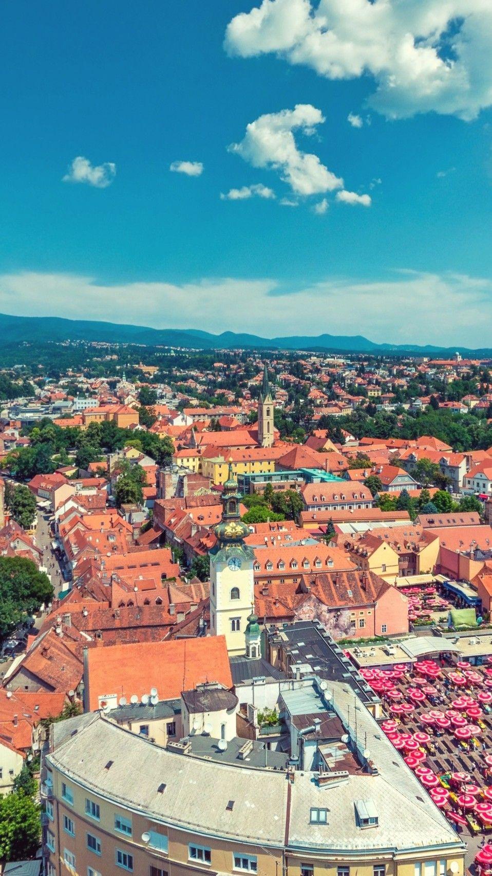 Zagreb Zagreb Paris Skyline Natural Landmarks