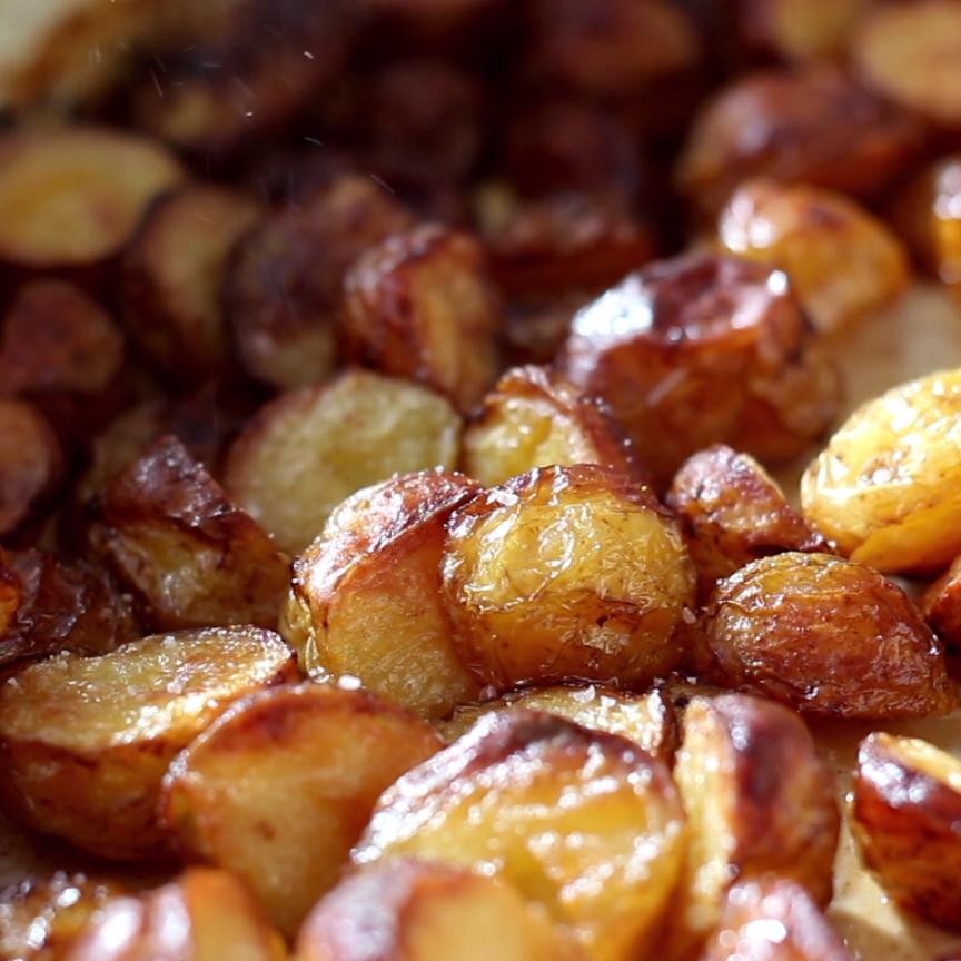 Salt And Vinegar Roasted Potatoes Like PBn'J, like
