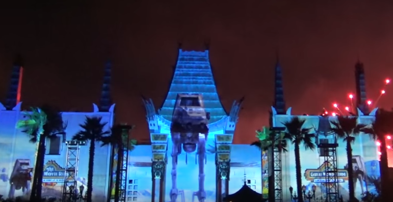 Video: Star Wars A Galactic Spectacular in Disney's Hollywood Studios