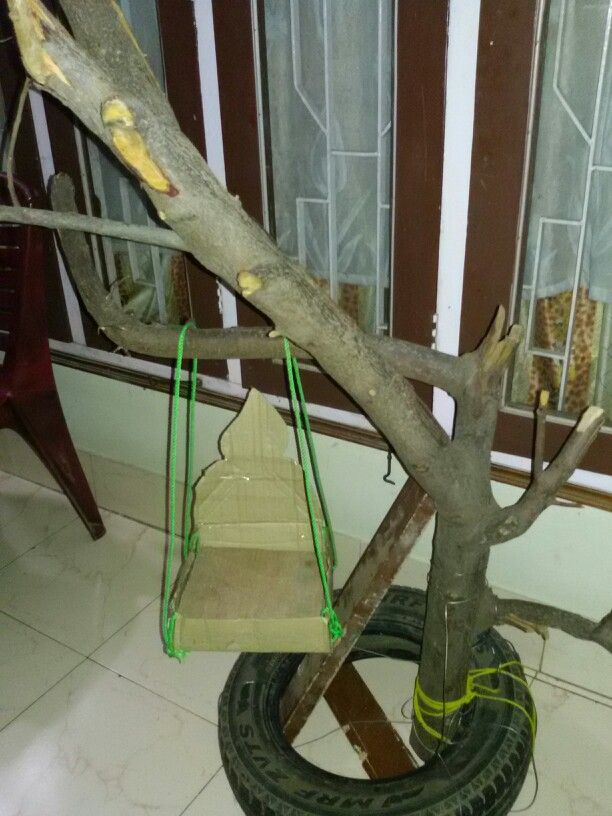 Things required to make a handmade krishna jhula at home...nd ...