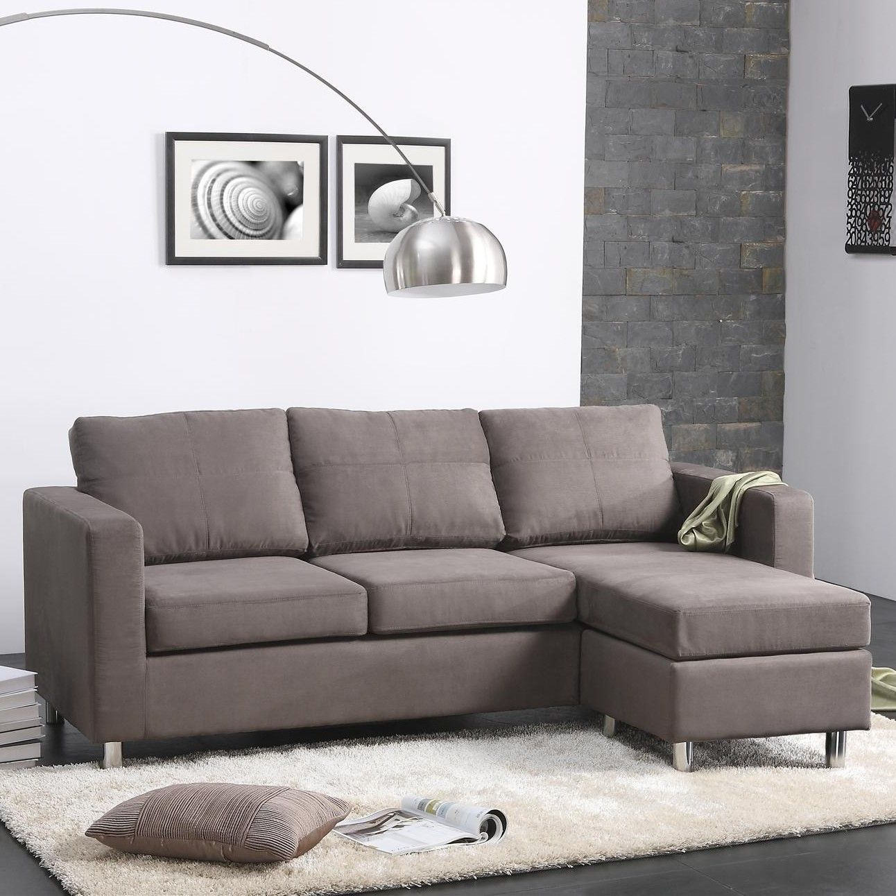 Youull love the small spaces right hand facing sectional at wayfair