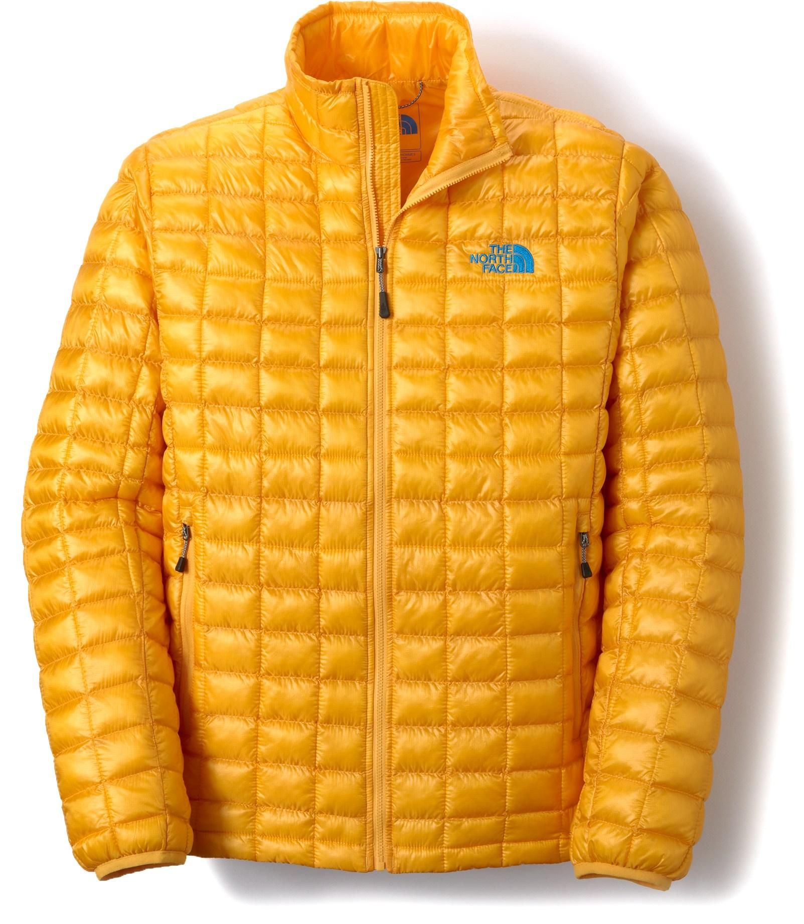 2e08b7f3cf04 Go light and stay warm with revolutionary new ThermoBall™ synthetic  insulation — The North Face Men s ThermoBall Full-Zip Insulated Jacket.
