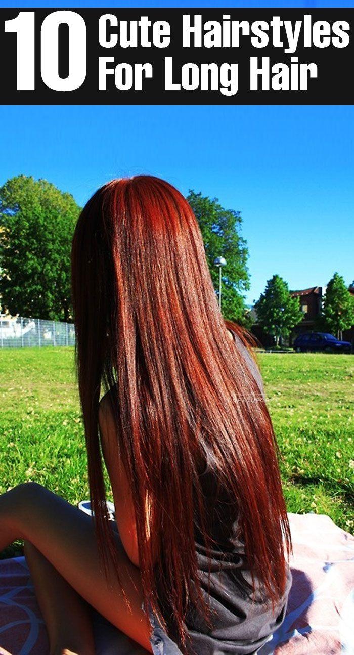 cute hairstyles for long hair hair style red hair and hair