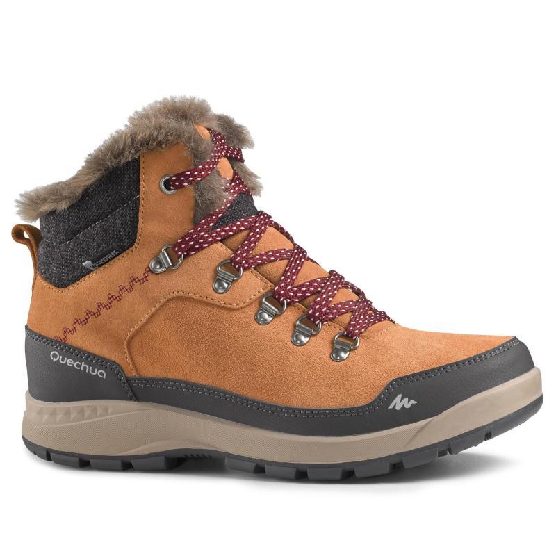 Incălțăminte Drumeții Zăpadă Damă Ghete Mid Sh500 X Warm Damă Hiking Women Hiking Shoes Women Boots