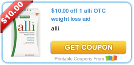 photograph regarding Alli Coupon Printable named Tri Towns Upon A Dime: Help you save $10.00 Upon ALLI OTC Excess weight Reduction