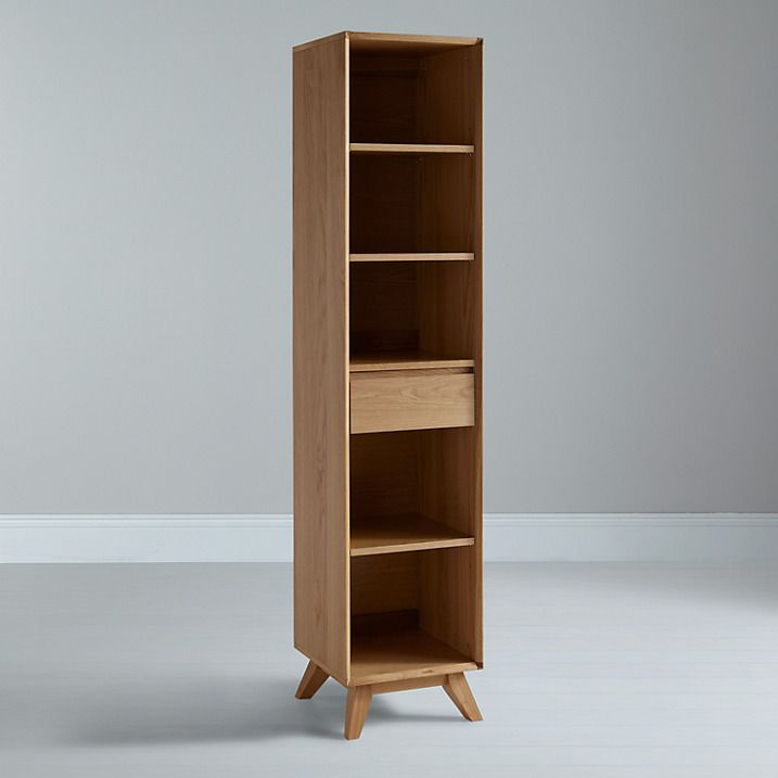 Buy House By John Lewis Stride Narrow Bookcase Online At