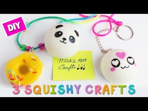 5 Minute Crafts 3 Easy Squishy Hacks X2f Crafts Simplekidscrafts Youtube Crafts Squishies Diy Easy Crafts For Kids