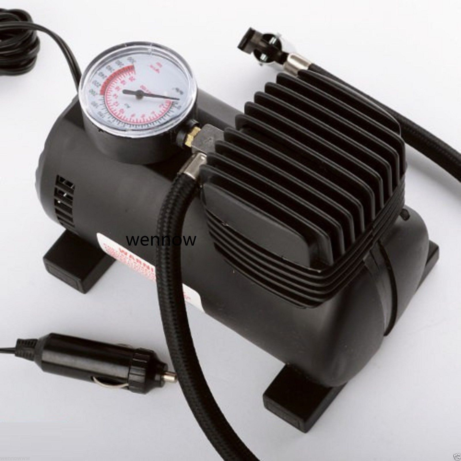 Wennow Portable Mini Air Compressor Auto Car Electric Tire