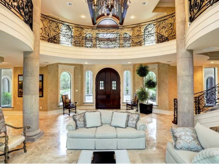 7 5 million mediterranean mansion in houston texas two Mediterranean style homes houston