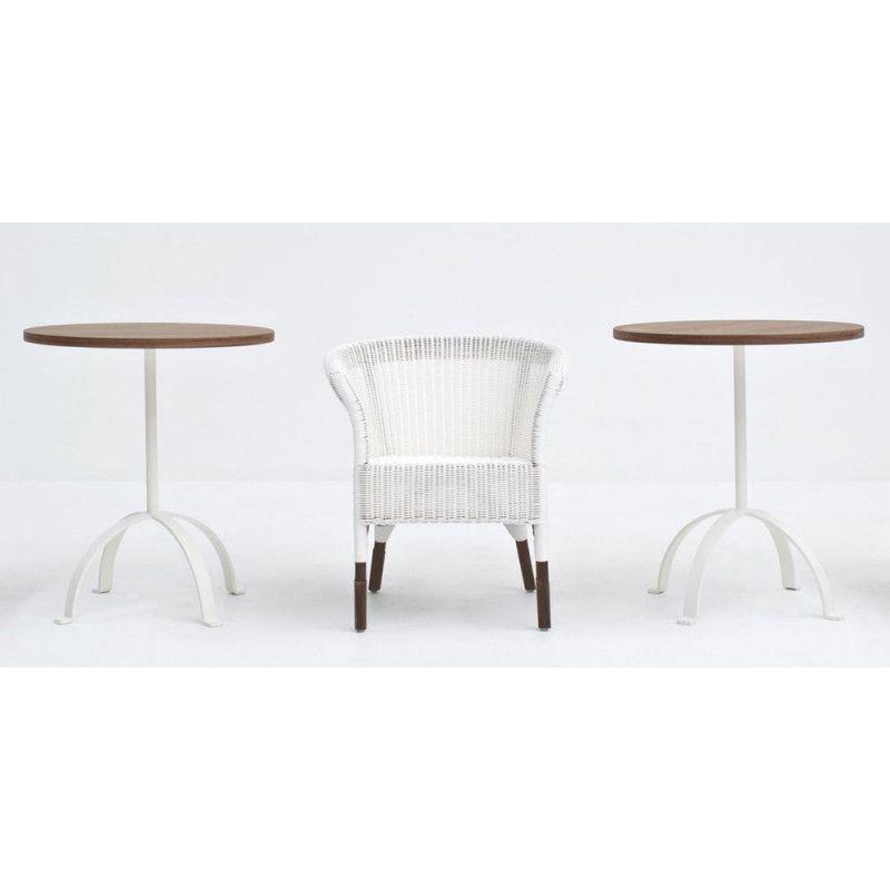 Gervasoni Weekend 46 Gartentisch Mit Tischplatte Aus Carrara Marmor