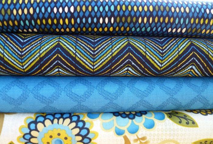 Benartex Zoe Half Yard Bundle quilting fabric (2 yards). $18.95, via Etsy.
