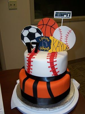 Sports Cakes And Party
