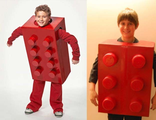 36 Last Minute DIY Halloween Costumes | Lego costume, Costume ...
