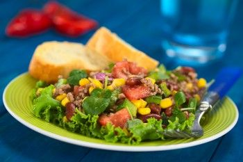 Mexicaanse corn chips salade