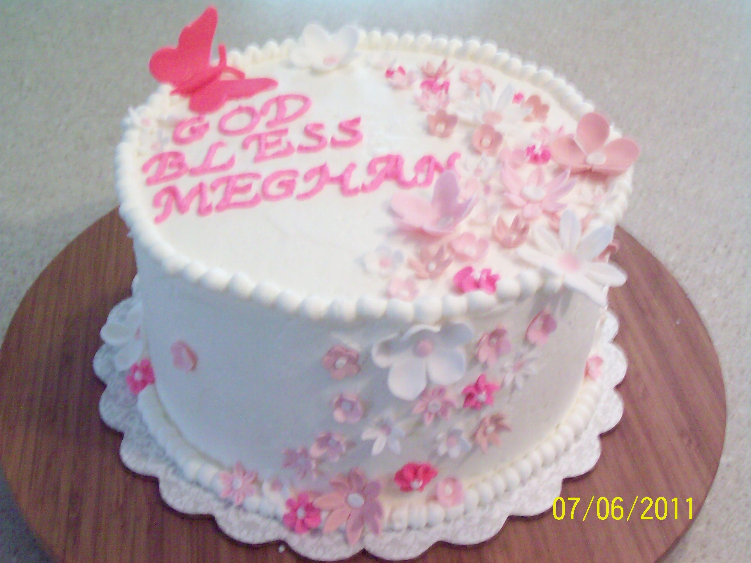 Pin On Baptism Cake Ideas