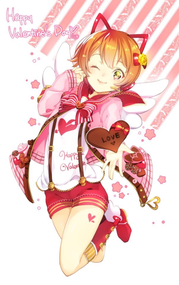 Neko Anime Girl Valentine S Day Valentine S Day Anime Pinterest