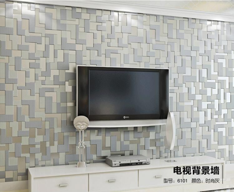 Home Improvement Modern Simple 3d Stereo Stripe Wave Wallpaper Living Room Tv Sofa Bedroom Home Decor Non Woven Flocking Wall Paper For Walls 3 D