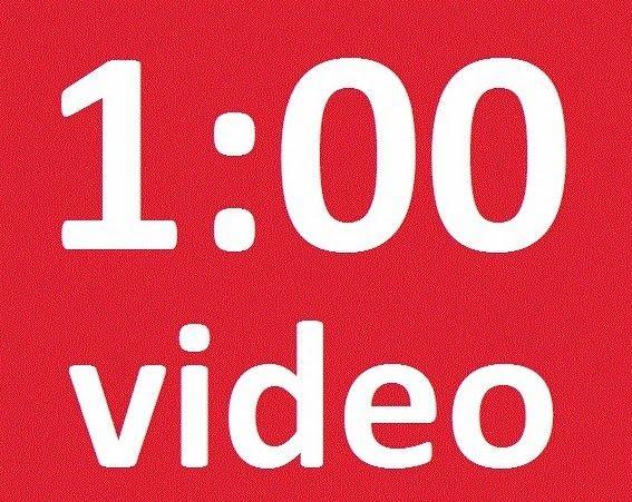 (Blog) Wist je dat 1 minuut video meer waard is dan 1,8 biljoen woorden?