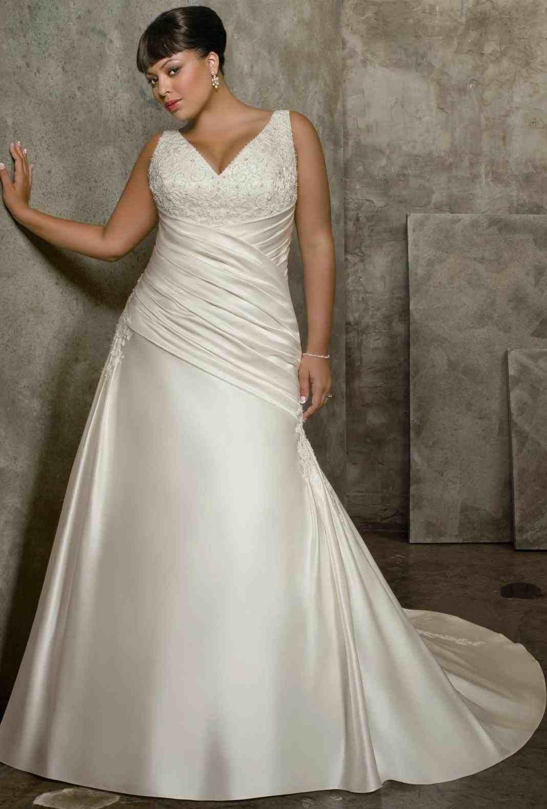 plus size western wedding dresses | Plus Size Wedding ...