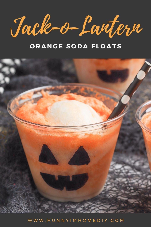 Halloween Drink Ideas 2020 Jack O Lantern Halloween Punch for Kids | Hunny I'm Home | Recipe