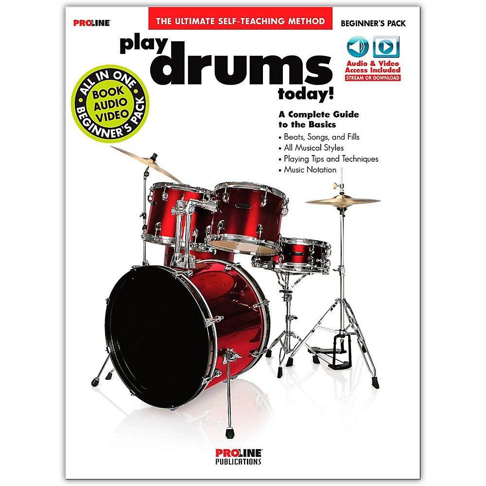 Proline Proline Play Drums Today Beginner's Pack Book