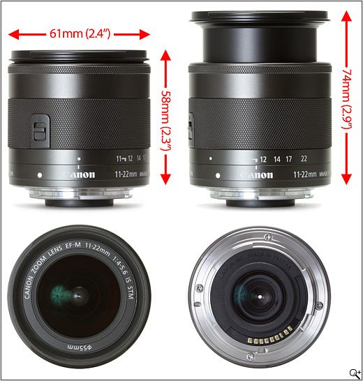 Canon Ef M 11 22mm F 4 5 6 Is Stm Preview Digital Photography Review Photography Reviews Slr Lens Canon Ef