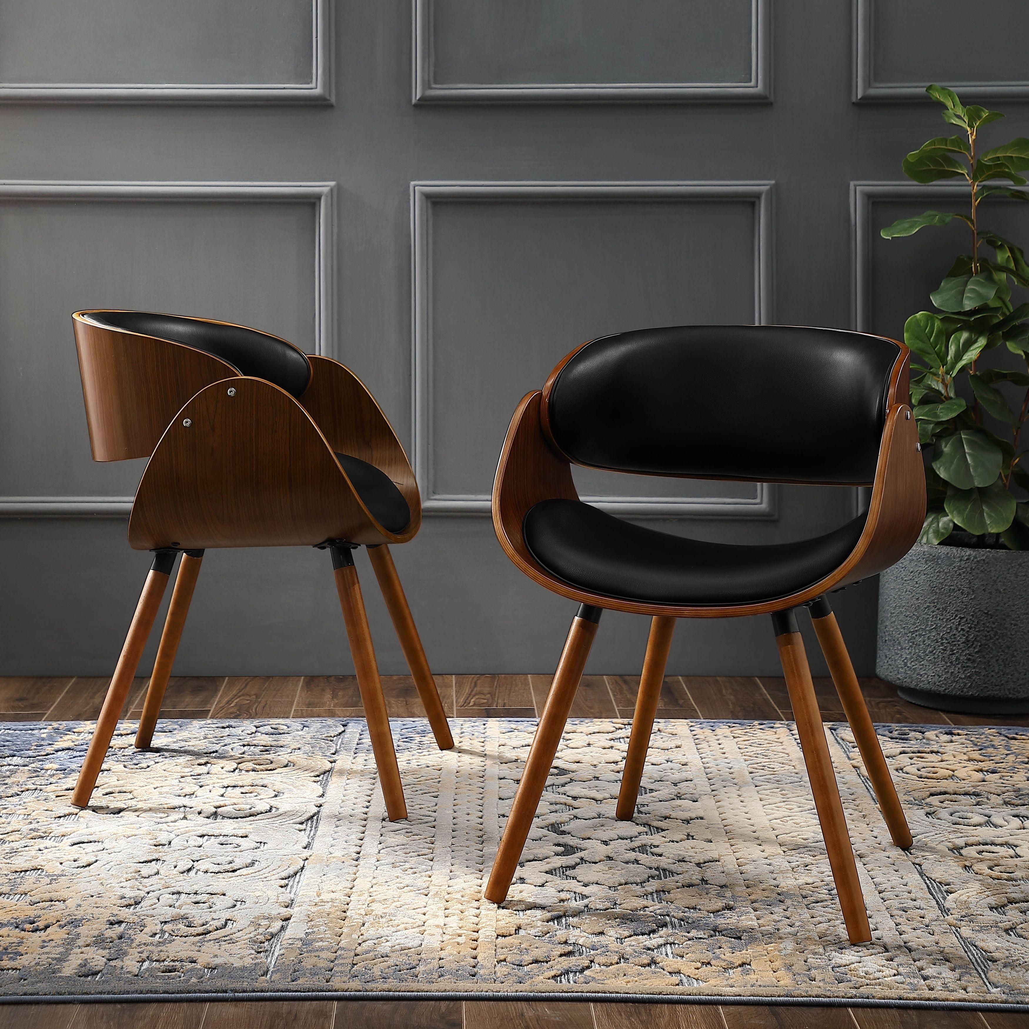 Terrific Corvus Mid Century Modern Accent Chair 1 Chair Bonded Ibusinesslaw Wood Chair Design Ideas Ibusinesslaworg