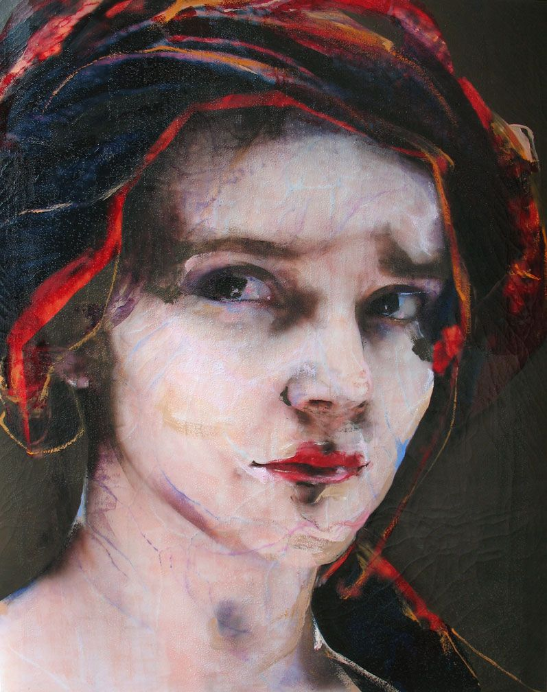 LOVE this portrait by Lita Cabellut. Her work is amazing.
