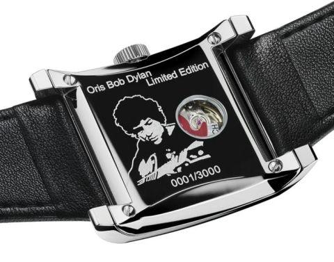 707573de52dd Oris Rectangular Bob Dylan Limited Edition timepiece
