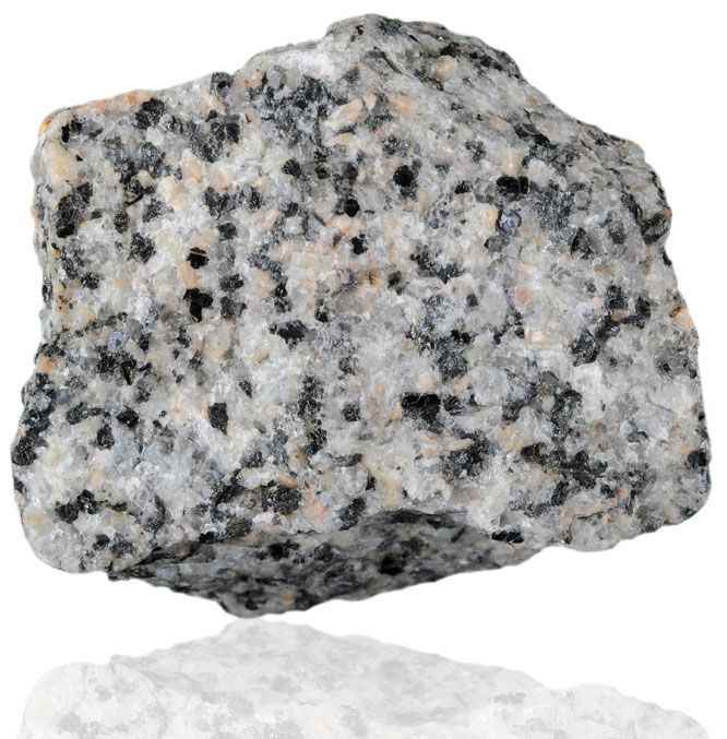 Granite Igneous Rock : Granodiorite is a phaneritic texture intrusive igneous