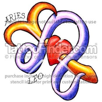 5c53da865 Leo and Aries tattoo design by Inkee | Tattoos | Tattoo designs ...