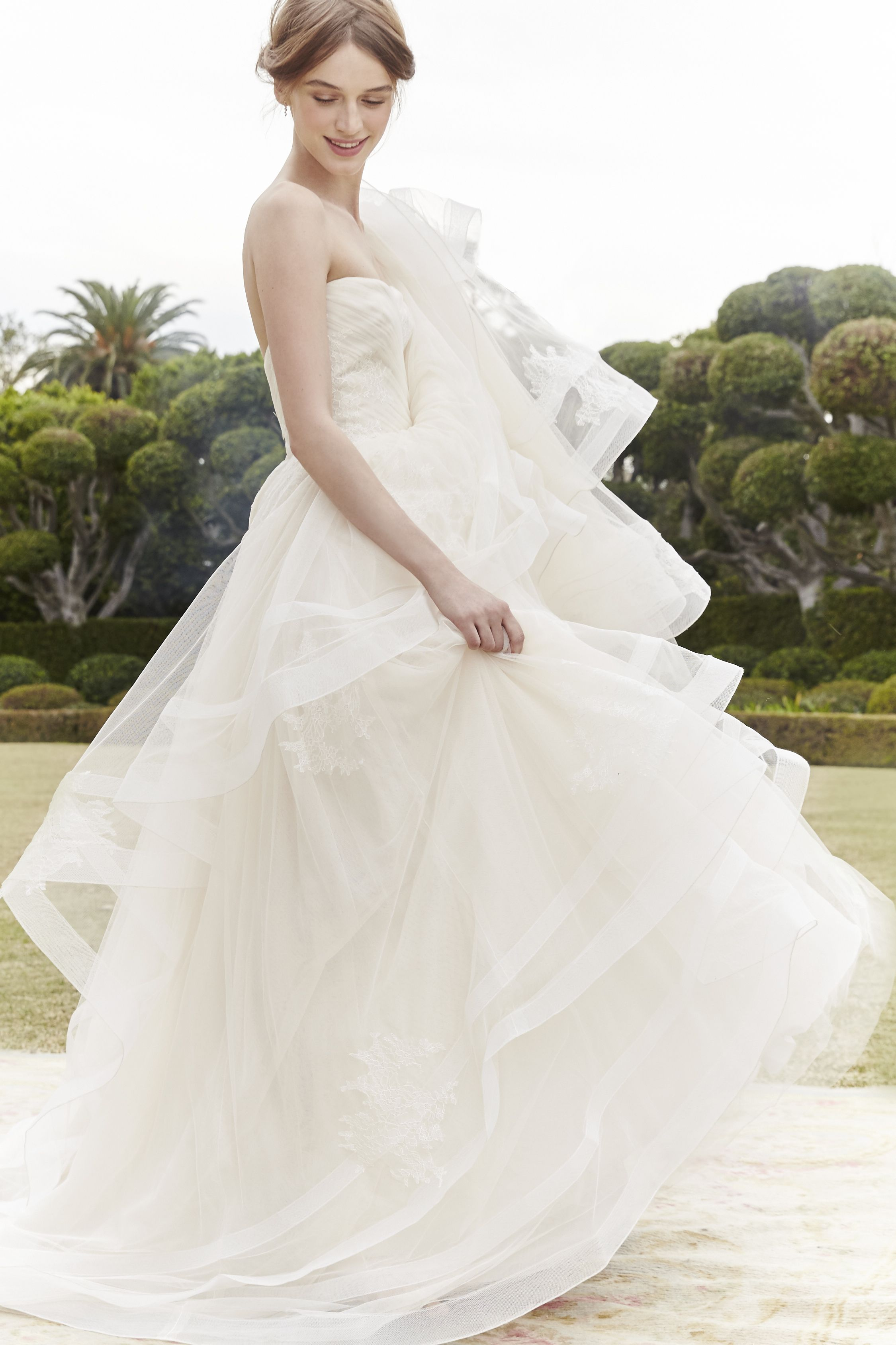 Elite wedding dresses  Monique Lhuillier  Someday  Pinterest  Monique lhuillier