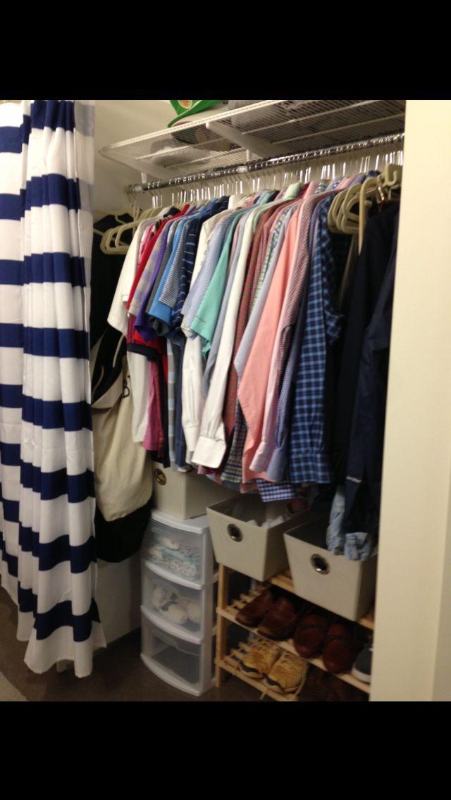 Dorm Room Closet: Pin On Dorm Tonic