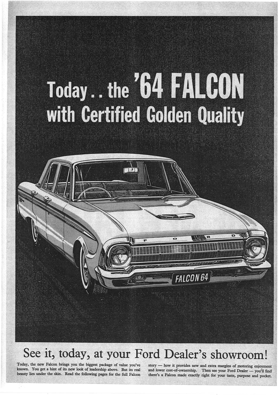 Ford Dealership Brooklyn >> Pin By Patrick Glenn On Vintage Car Ads Ford Falcon
