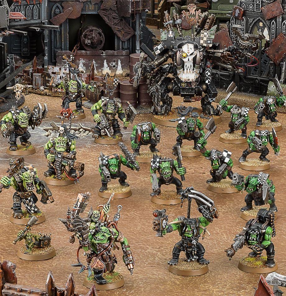 Warhammer 40,000 Start Collecting Orks plastic box by Warhammer