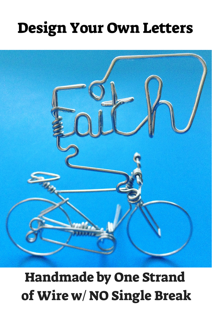 Have cycling friends? Check out this UNIQUE bicycle ornament decor bike wire art. Best customizable inspirational bicyclist gifts for dad mama friends ...