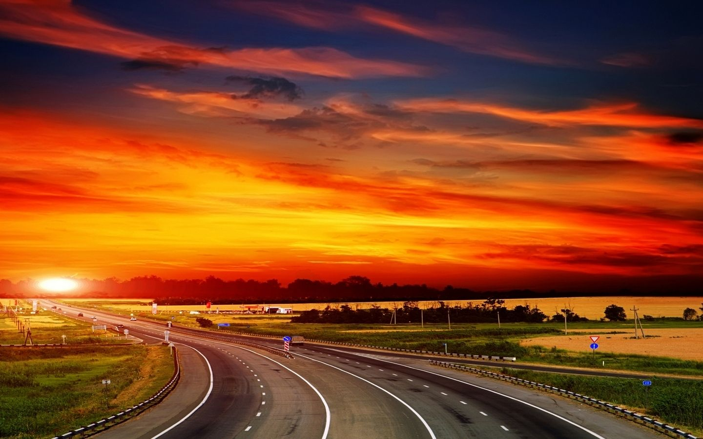 The Way To Sunset MacBook Pro Wallpapers
