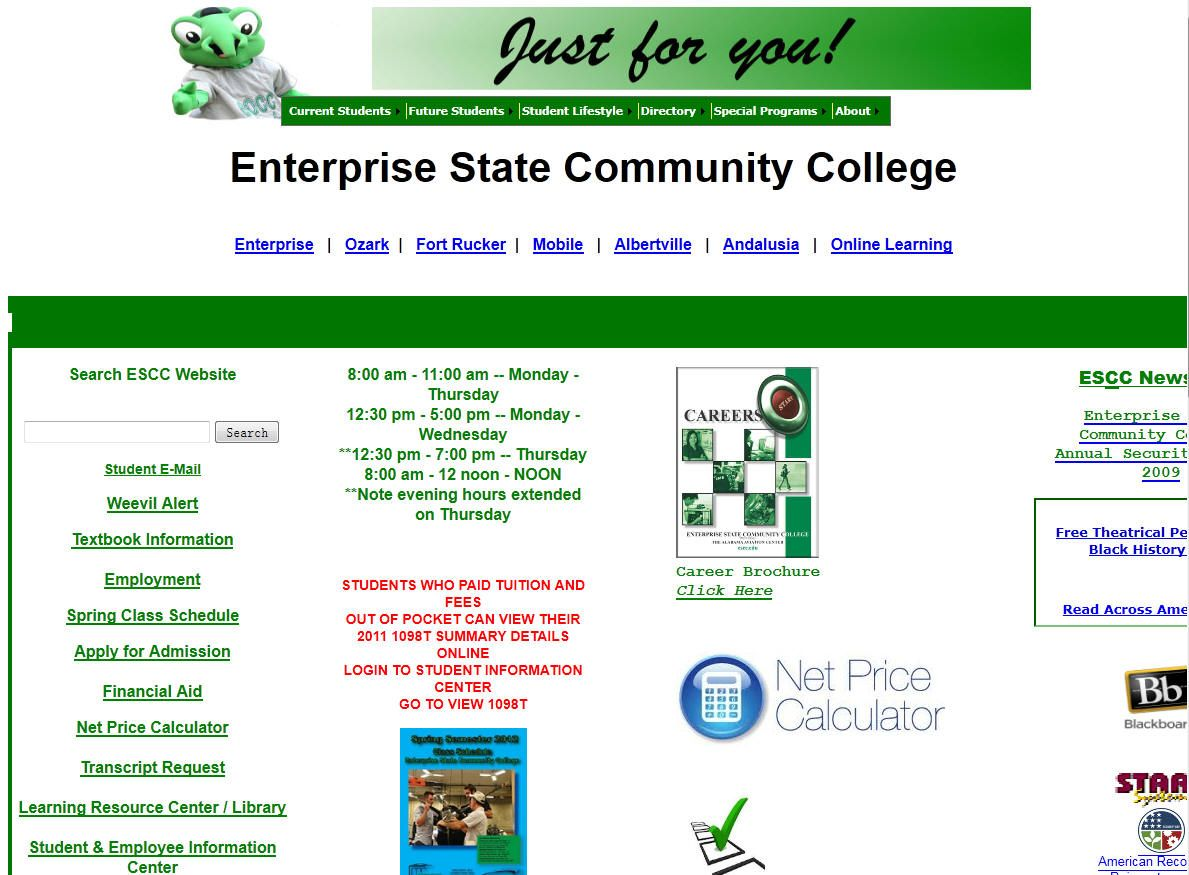 Enterprise Ozark Community College Is A Community College Located